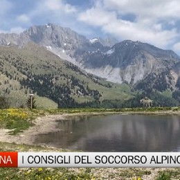 Montagna, i consigli del Soccorso Alpino