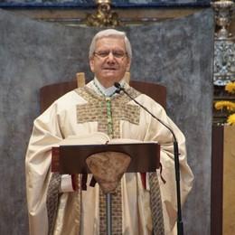 Rivedi l'ultima  Messa  a porte chiuse «I nuovi  passi con gioia e prudenza»