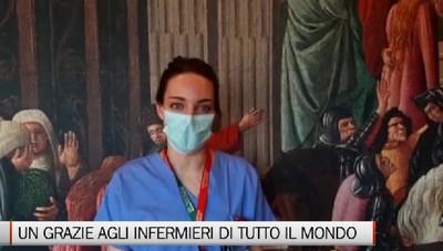 Un video per dire grazie agli infermieri