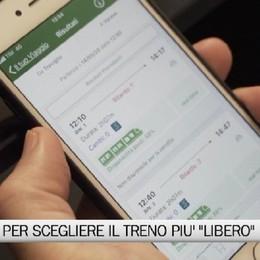Trasporti - Una app per scegliere il treno più libero