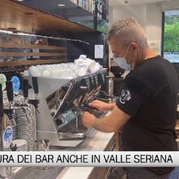 Val Seriana, la riapertura dei bar