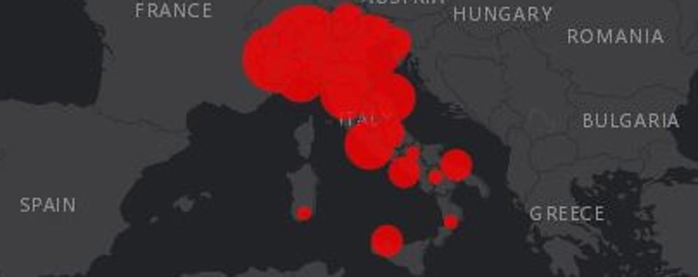 Emergenza covid, in Italia 162 decessi Calano i ricoverati ora sotto 10mila