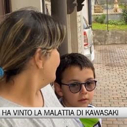 Parre, il piccolo Cristian ha sconfitto la malattia di Kawasaki