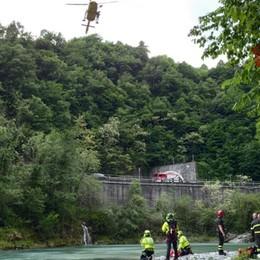 In bicicletta cade in un dirupo Ferita 24enne a San Giovanni Bianco