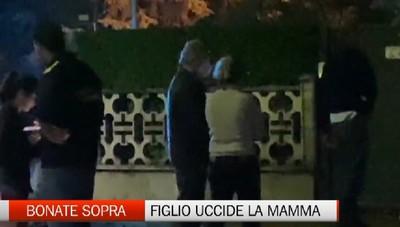 Omicidio a Bonate Sopra, figlio uccide la madre