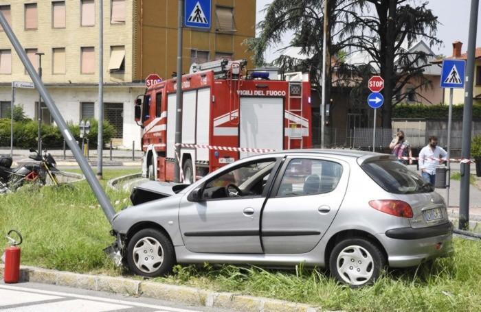 L'incidente di  Treviglio
