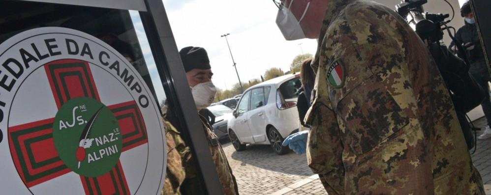 Bergamo, ospedale covid in Fiera Raccolti 800 mila euro, risultato commovente