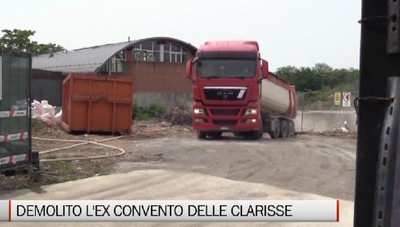 Boccaleone: partiti i lavori all'ex convento delle Clarisse