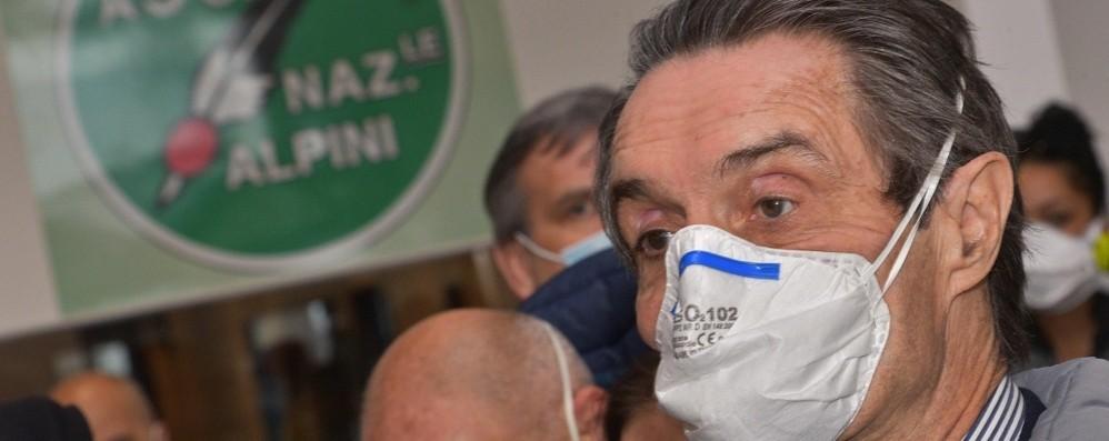«Fontana assassino»: dopo  le minacce  il presidente della Regione sotto scorta