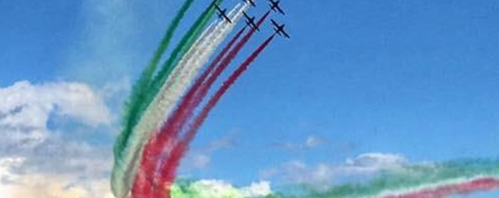 «Frecce Tricolori in volo su Bergamo» La lettera della Lega a Mattarella
