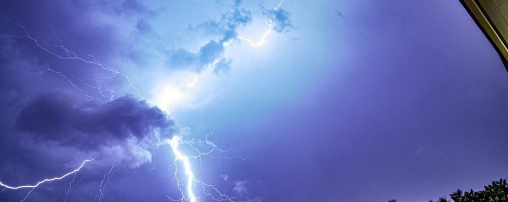 Il meteo: rischio temporale  sabato sera L'allerta verso le 20. Domenica  schiarite