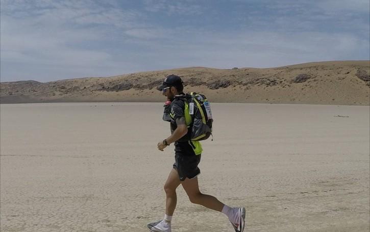 Impresa del maratoneta Thomas Capponi  «L'abbraccio di corsa per la terra ferita»