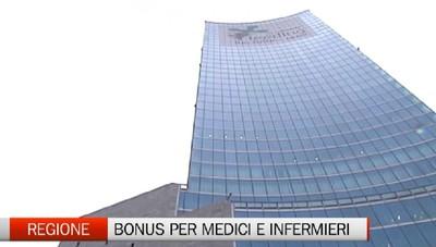Medici e infermieri: bonus speciale dalla regione