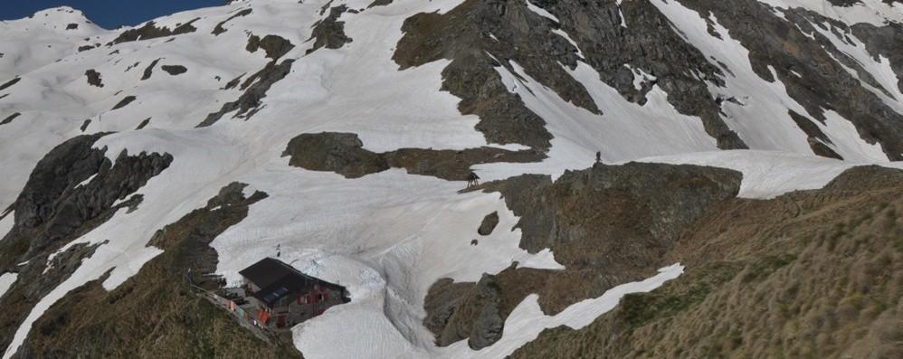Scivola sul sentiero per il Tagliaferri Soccorso con l'elicottero,  grave 24enne