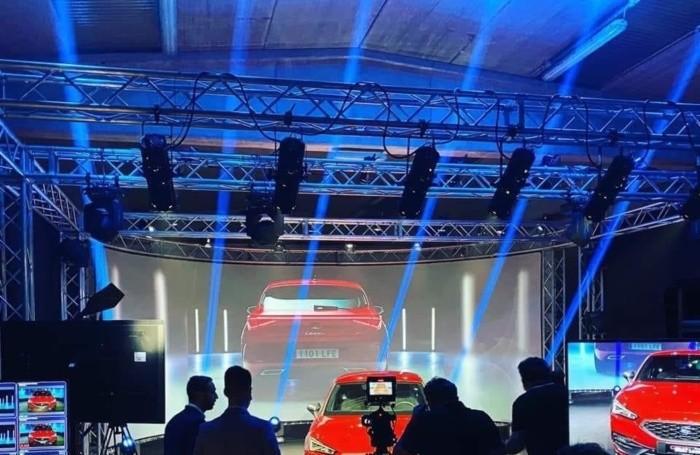 Il backstage della presentazione della Nuova Seat Leon