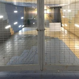 Sottopasso della stazione ancora chiuso Misura cautelativa e di controllo