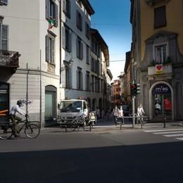 Via Pignolo, novità da lunedì  Senso unico da Santo Spirito a via Verdi