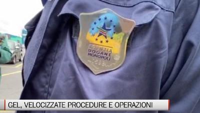 Gel igienizzanti: procedure straordinarie in Dogana per velocizzare la produzione