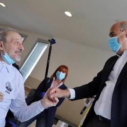 Guarito dal coronavirus dopo 50 giorni Vincenzo torna a Bergamo da Roma
