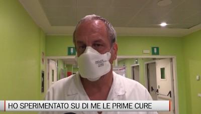 Ho sperimentato su di me le prime cure anti covid,  in attesa di pubblicazione il protocollo del dottor D'Alessio