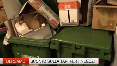 In arrivo uno sconto della tassa rifiuti per le attività chiuse a Bergamo