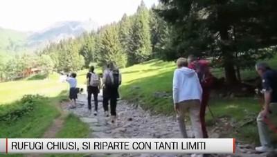 Aperti 2 rifugi su 17, la montagna nella fase due da vivere ma con prudenza