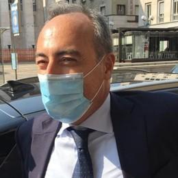 Giulio Gallera in Procura a Bergamo «Atto dovuto, non sono preoccupato»