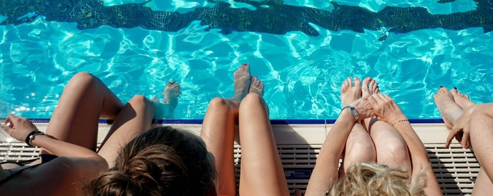 In piscina ma con regole ferree Ma l'Italcementi resta ancora chiusa