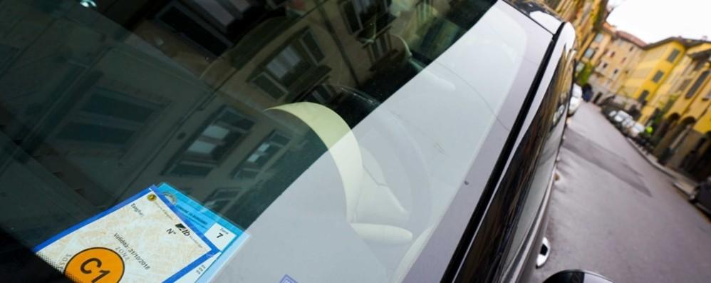 Parcheggi blu e Ztl a Bergamo Dal 1° giugno stop a tutte le agevolazioni