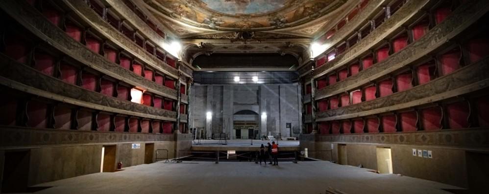 Teatro Donizetti, i lavori dopo l'epidemia Corsa contro il tempo per finire in 4 mesi