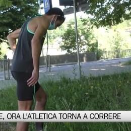 Atletica, Ahmed Ouhda torna ad allenarsi