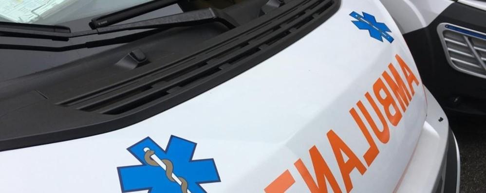 Auto contro moto a Pontirolo 32enne ricoverato al Niguarda