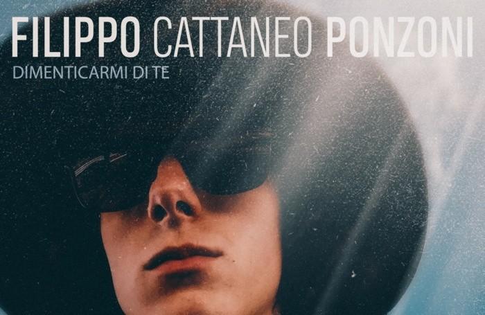 La copertina del singolo di Filippo Cattaneo Ponzoni realizzata da Paolo De Francesco
