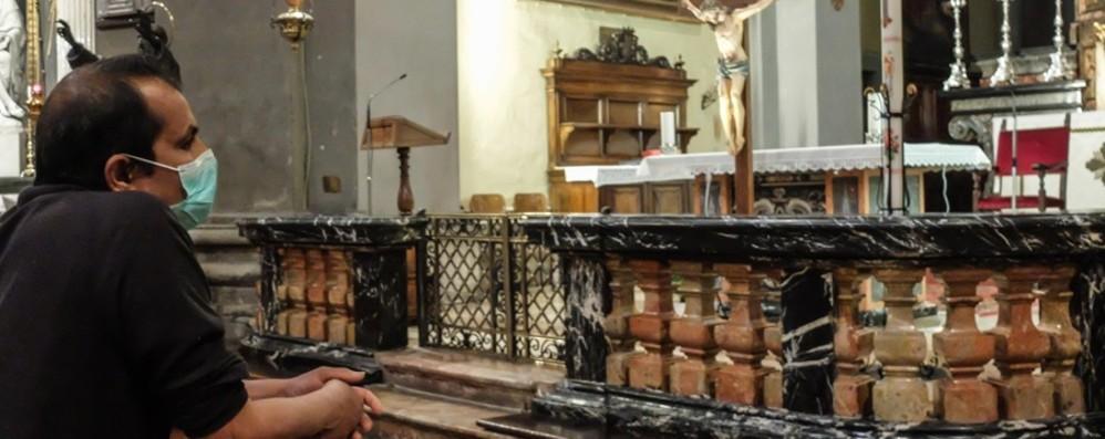 Dal 18 maggio si riprende con le Messe Numero fedeli dalla capienza della chiesa