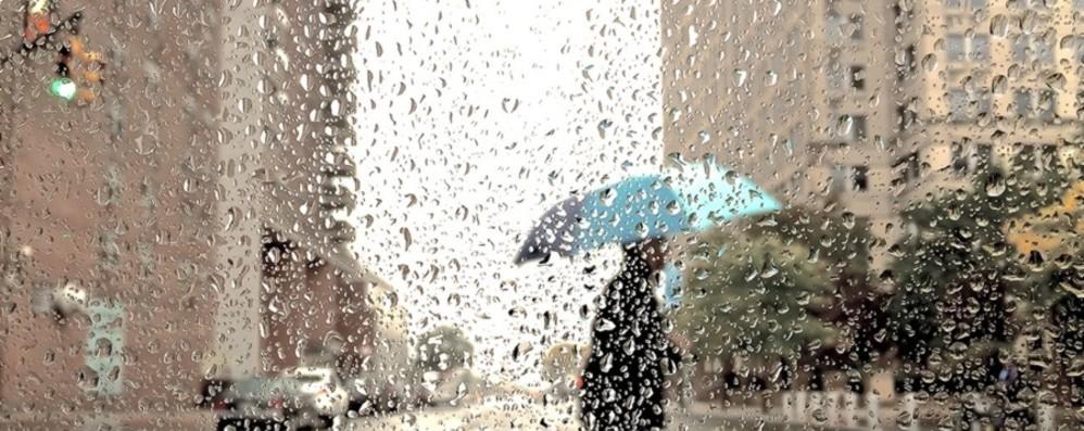 In arrivo un'ondata di maltempo in Lombardia temporali, grandine e vento