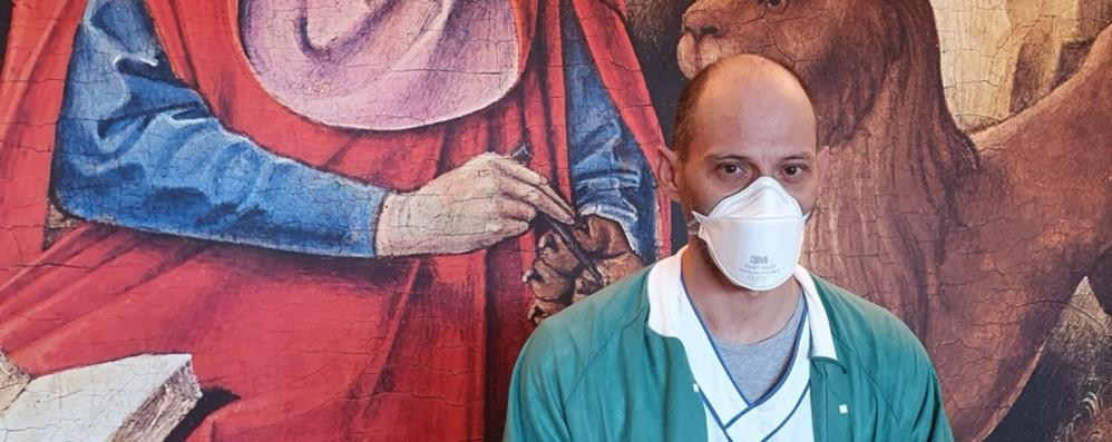 «Io, infermiere costretto a casa Aiutare si può anche così»