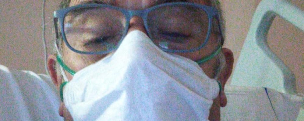 Lenna, il vicesindaco è guarito  Dall'ospedale in chat lavora per paese