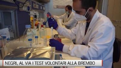 Mario Negri e Brembo, al via la sperimentazione per definire il più efficace test sierologico rapido