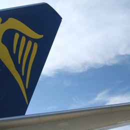 Ryanair, ripristino del 40% dei voli da luglio  Solo se verranno abolite le restrizioni Ue