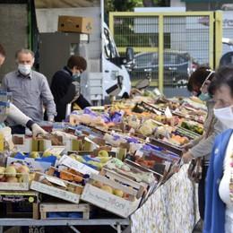 Test di riapertura dei mercati a Bergamo Critiche alla Regione dagli ambulanti