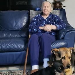 «Vengo dalla guerra, il Covid l'ho vinto» A 94 anni Maruska è tornata a Rovetta