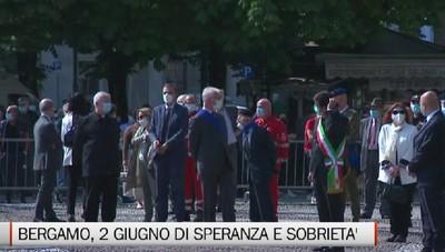 Bergamo, 2 giugno di speranza e sobrietà