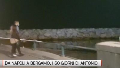 Da Napoli a Bergamo in aiuto nelle strutture di accoglienza dei malati, Antonio: Ho trovato un grande cuore
