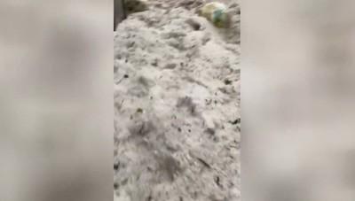 Il video della situazione delle strade