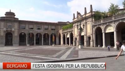 La festa della Repubblica con prudenza e mascherine (e la diretta su Bergamo Tv)