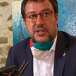 Matteo Salvini a Castelli Calepio L'incontro con gli imprenditori orobici