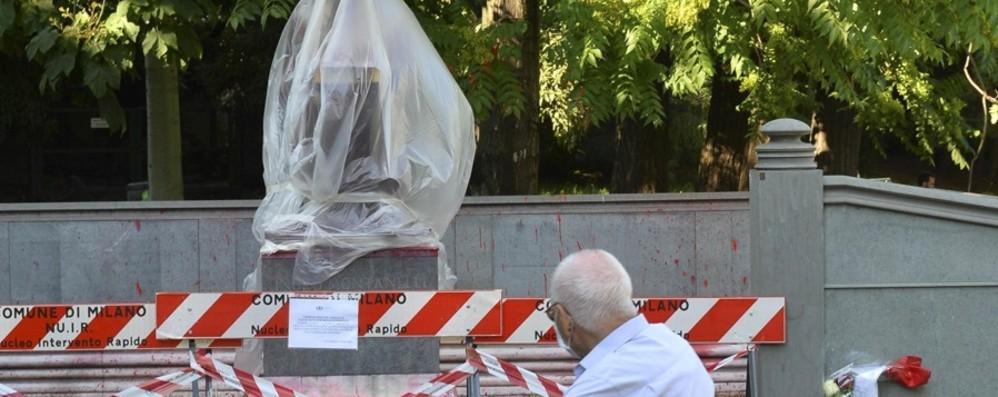 Statue nel mirino Passato a rischio