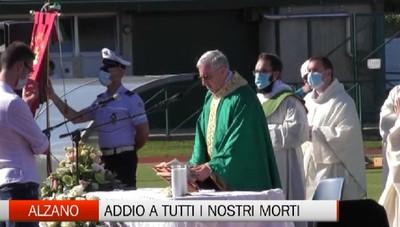 Alzano Lombardo, il ricordo commosso delle vittime covid
