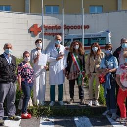 Dalla Valle Seriana 490 cuori in dono a medici e infermieri dopo la pandemia