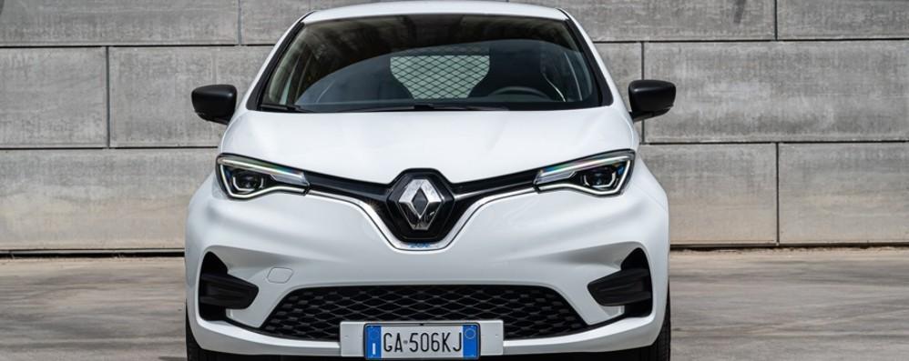 Elettrica Renault Zoe  Arriva la versione Van